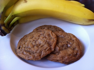 Banana-Toffee-Cookies