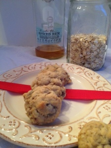Oatmeal-Rum-Raisinette-Cookies